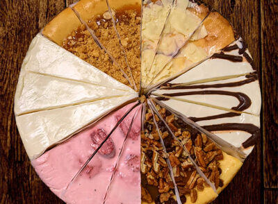 The Sampler Cheesecake