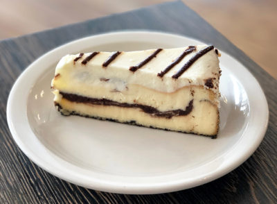 Marble Brownie Swirl Cheesecake
