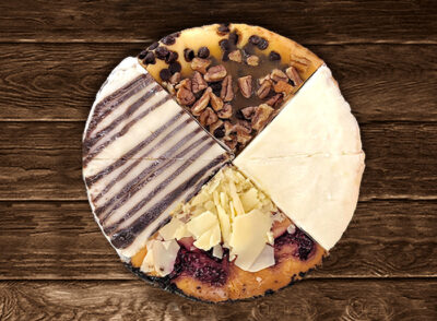 "The 7"" Sampler Cheesecake"