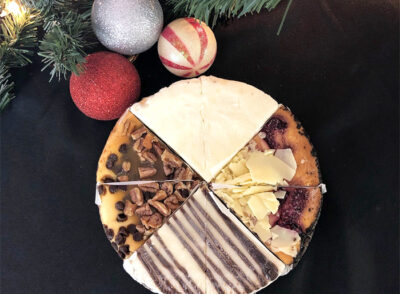 "7"" Holiday Sampler Cheesecake"